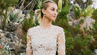 Whitney Port's Waterfall Hemline Wedding Dress Revealed: See the Unique Bridal Look!
