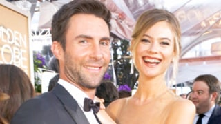 Behati Prinsloo Worked Out With Husband Adam Levine Before the Victoria's Secret Fashion Show: