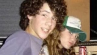 Nick Jonas Totally Wins #TBT With Hilariously Sweaty Photo of Himself and Miley Cyrus