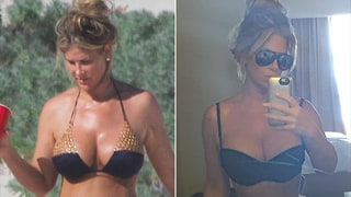Kim Zolciak's Super Slender Instagram Pic Doesn't Look Much Like Her Beach Snap: Photos