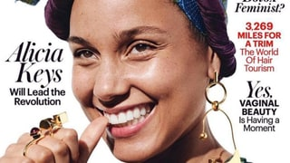 Alicia Keys Wears Makeup in an Editorial Shoot for the First Time in Nearly a Year