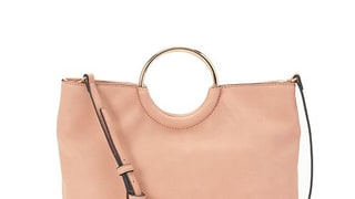 LC Lauren Conrad Ring Convertible Crossbody Bag in Clay