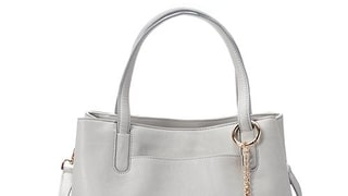 LC Lauren Conrad Lili Large Frame Tote With Coin Purse in Dove