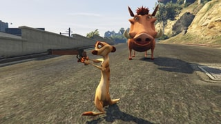 Modder Brings 'The Lion King' to the Streets of 'Grand Theft Auto V'