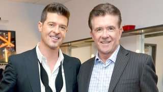 Robin Thicke Pays Tribute to Father Alan Thicke After His Sudden Death: 'Thank You for Your Love'