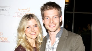 Hunter Parrish & Kathryn Wahl