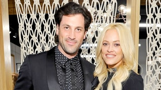 Maksim Chmerkovskiy Kisses Pregnant Peta Murgatroyd's Bare Baby Bump in Sweet New Photo