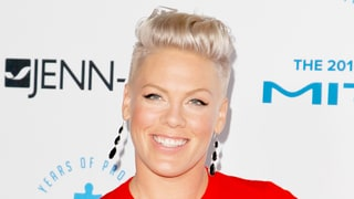 Pink Nearly Falls While Dancing — on a Treadmill!