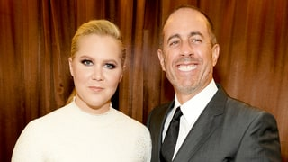 Amy Schumer Rocks Black Swimsuit for 'Group Date' With Boyfriend Ben Hanisch, Jerry and Jessica Seinfeld: Photos