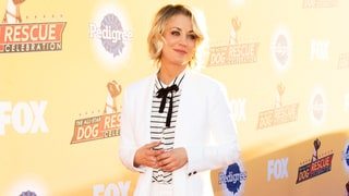 Would You Wear Kaley Cuoco's Daring White Culotte Pantsuit?