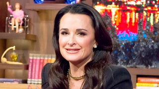 Kyle Richards Reacts to Yolanda Foster's Divorce on WWHL: