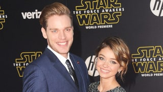 Sarah Hyland Makes Out With Her Boyfriend, Dominic Sherwood, at the Star Wars Premiere