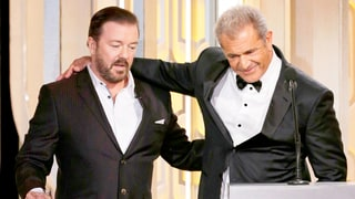 Ricky Gervais' Comment to Mel Gibson Censored at Golden Globes 2016: What Did He Say?