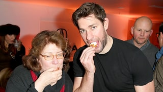 Margo Martindale and John Krasinski