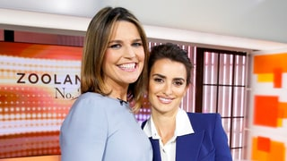 'Today' Show's Savannah Guthrie Awkwardly Asks Penelope Cruz About Her 'Ugly Feet': Watch