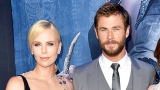 Chris Hemsworth's and Charlize Theron's Kids Chased One Another with Weapons from the 'Huntsman: Winter's War' Set