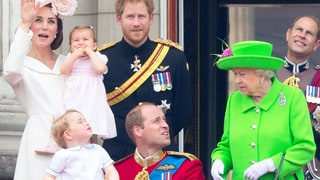 Watch Queen Elizabeth Scold Prince William — and See Prince George's Reaction!