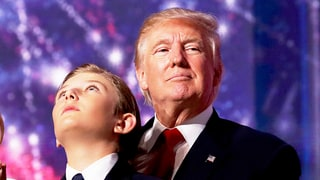 Where Was Barron Trump During Donald Trump's Pre-Inauguration Concert? Twitter Reacts