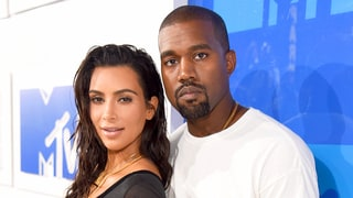 Kanye West Examines Kim Kardashian's Booty in New Instagram Pic: 'Always Has My Back'
