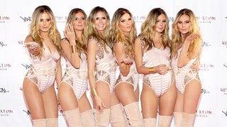 Heidi Klum Clones Herself for Epic Halloween Costume That Includes Five Prosthetically Enhanced Women