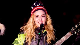 Madonna Performs at Surprise New York Rally for Hillary Clinton Hours Before the Election