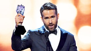 Ryan Reynolds Dedicates Entertainer of the Year Award to Make-A-Wish, Thanks Wife Blake Lively at Critics' Choice Awards 2016