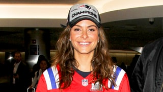 Maria Menounos Broke Her Diamond Engagement Ring While Celebrating the Patriots During the Super Bowl