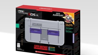The Super Nintendo Entertainment System-themed 3DS XL is U.S. Bound