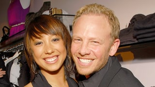 Ian Ziering Reacts, Sort of, to Cheryl Burke's 'Slit My Wrists' Comment