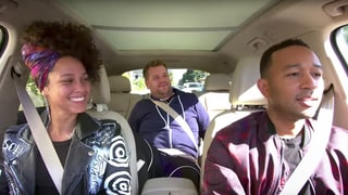 'Carpool Karaoke': See Alicia Keys, John Legend Turn Nonsense Into Good Songs