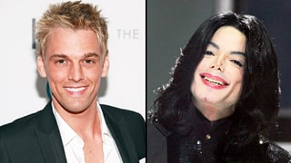 Aaron Carter Says He Keeps Michael Jackson's Iconic Jacket and Glove in a Vault
