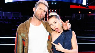 Miley Cyrus, Adam Levine Butt Heads on Set of 'The Voice'