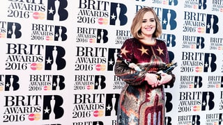 Adele Ditches Her Beloved Black Threads for Two Red Dresses at the Brit Awards 2016