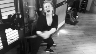 Adele Working Out Is All of Us Working Out: See the Hilarious Pic!