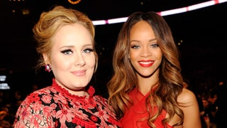 Adele Won't Attend Rihanna's Concert Because She Might Accidentally Get 'Stoned'