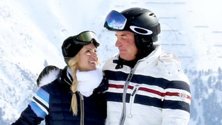 Elin Nordegren Reunites With, Kisses Billionaire Ex Chris Cline on Skiing Trip: Photos