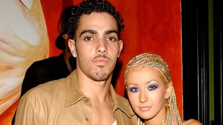 Christina Aguilera and Jorge Santos