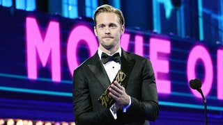 Alexander Skarsgard Wears Tighty-Whities as He Presents at MTV Movie Awards 2016