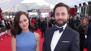 Alexis Bledel Hits Red Carpet With Husband Vincent Kartheiser at SAG Awards After 'Gilmore Girls' Revival News