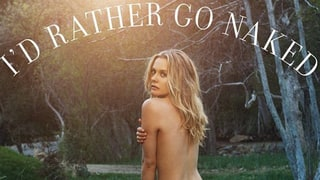 Alicia Silverstone Poses Totally Nude for PETA Ad: 'I'd Rather Go Naked Than Wear Wool'
