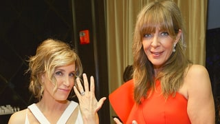 Allison Janney and Felicity Huffman Are Inseparable While Admiring Jewelry