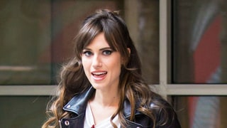 Allison Williams Shows Off Three Ways to Style Your Bangs