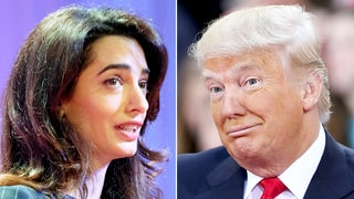Amal Clooney: Donald Trump's Proposals Violate International Human Rights Law