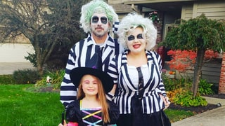 Amber Portwood, Matt Baier and Leah, Beetlejuice and Witch