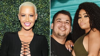 Amber Rose: Rob Kardashian and Blac Chyna 'Love Each Other,' 'Have a Blast Together'