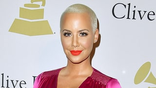 Amber Rose Gets Huge 'Hollywood' Tattoo After Val Chmerkovskiy Split: Photo