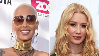 Amber Rose Shows Support for Iggy Azalea After Nick Young Split, Jokes 'Now You Can Be a Hoe'
