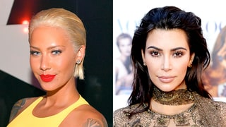 Amber Rose Reacts to Kim Kardashian's Paris Robbery, Says: 'It's Unfortunate, It's Sad'