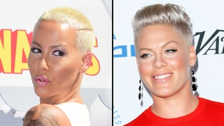 Amber Rose Defends Kim Kardashian's Nude Selfie, Slams Pink: 'We've Seen You Damn Near Naked Swinging From a Rope'