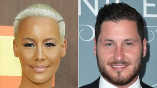 Amber Rose Calls 'Dancing With the Stars' Pro Val Chmerkovskiy 'Bae' as He Posts Pics of Her